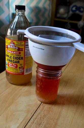 Adding Unpasteurized Apple Cider Vinegar