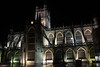 Bath Cathedral nighttime by JW.Andrews