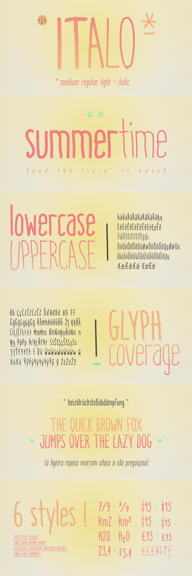 Italo - Free Font