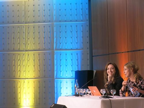 Viv Albertine und Brigitte Zeh