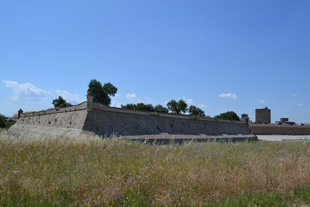 Baluarte del siglo XVII en Olivenza