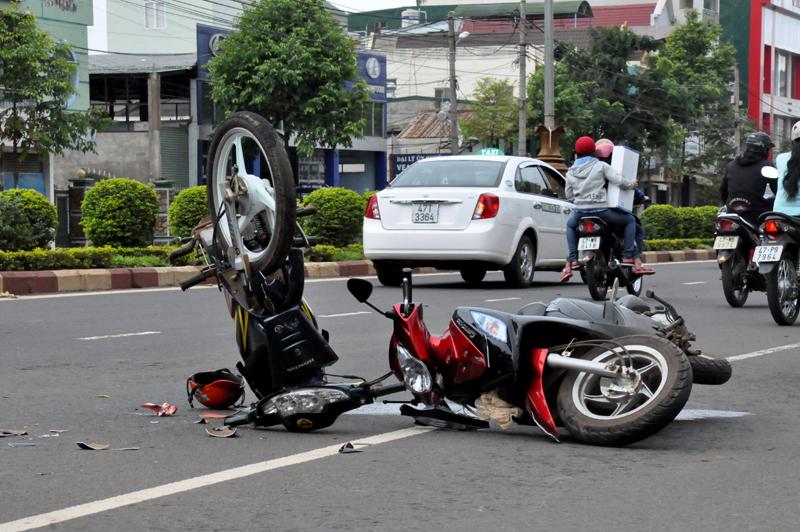 Nhờ tiếng niệm Phật đã thoát chết khi bị tai nạn giao thông