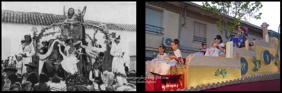 Carroza Reina y Damas años 50-2012