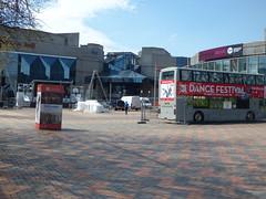 International Dance Festival 2016 Birmingham - stage and bus