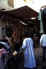 Ägypten 1999 (079) Im Souk, Assuan