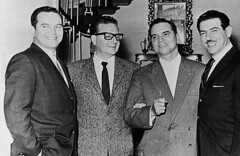 Chilean President Salvador Allende and Ambassador Wolfgang Larrazabal.