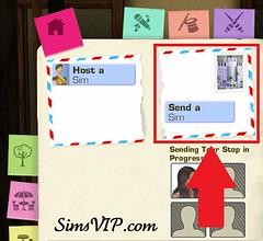 Send a Sim