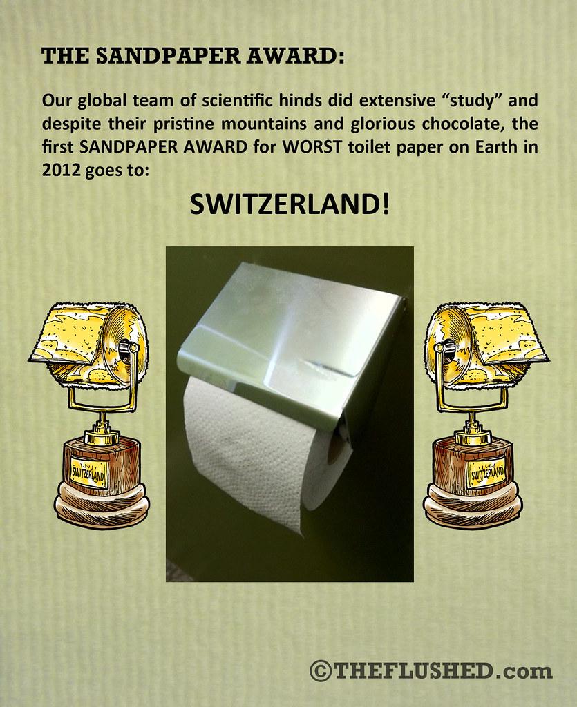 The Sandpaper Award