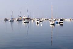 pier Izola, reflections