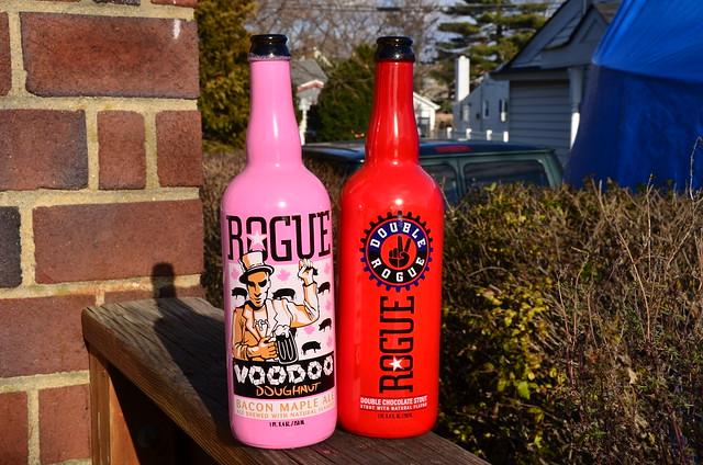 Rogue Beer Logo Oregon Rogue Beer Voodoo Donut