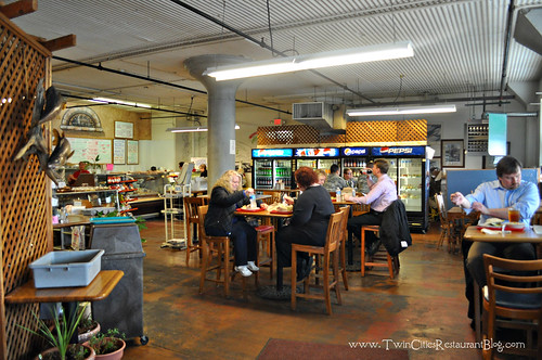 Inside Wabasha Deli & Cafe ~ St Paul, MN