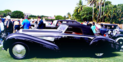 Bugatti at the Concourse d' Elegance, Boca Raton, Florida by chloe & ivan