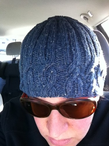 binary cable hat