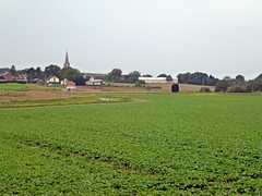 View of Grévillers and British Cemetery