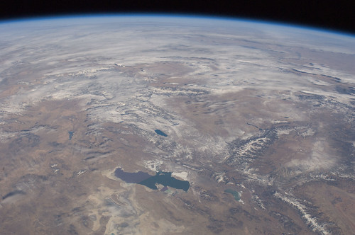 Great Salt Lake, Utah (NASA, International Space Station, 01/14/12)