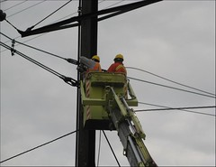 FHA01 - Installing Static Wires at Signal Tower 11 (2-27-2012)