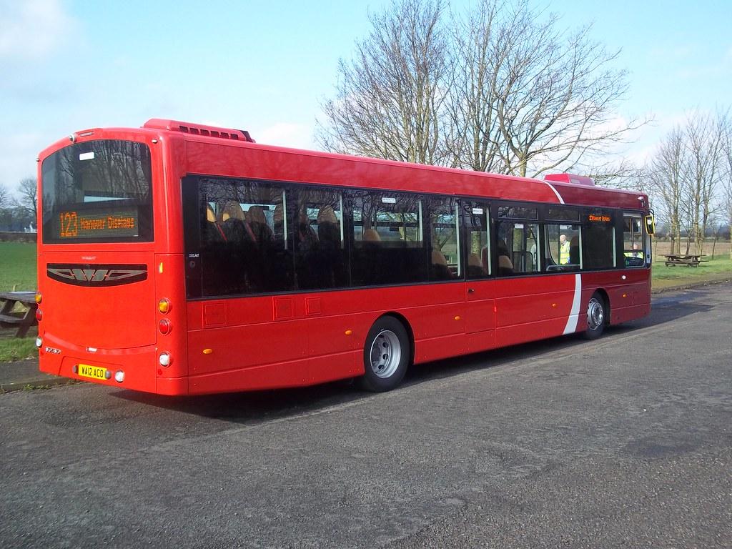 Plymouth Citybus WA12ACO