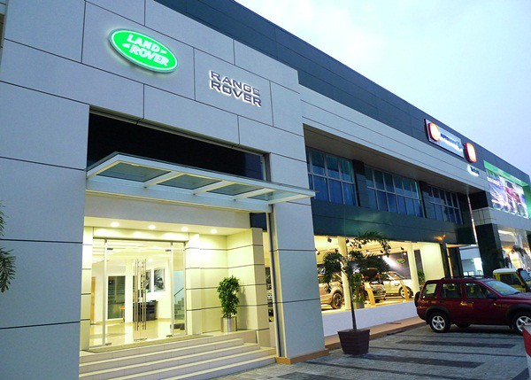 The new Land Rover Flagship Facility in Petaling Jaya