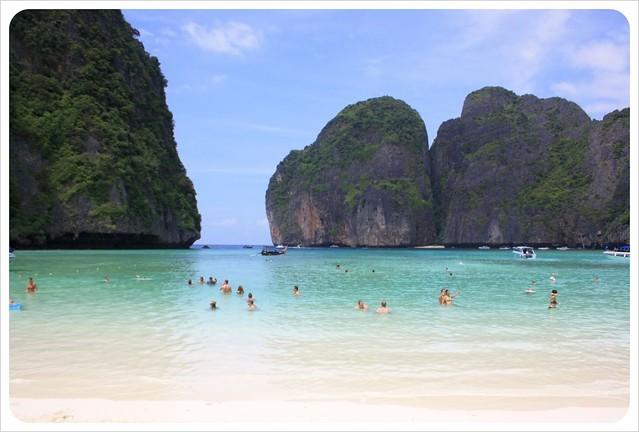maya bay phi phi lei thailand