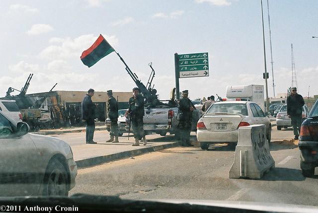 Militia Checkpoint