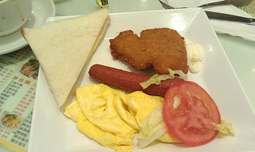 Non-macaroni breakfast