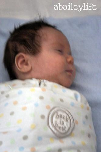 Eli sleeping