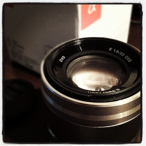 SEL50F18 for SONY NEX