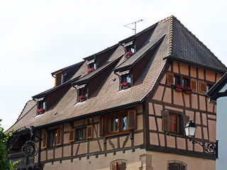 colombages a Eguisheim
