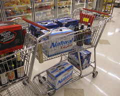 Shopping list: beer