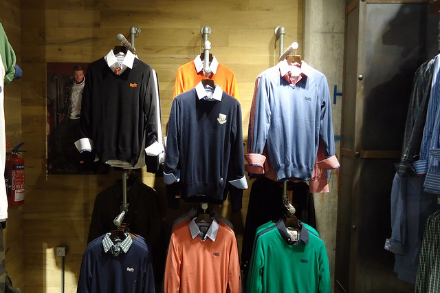 Superdry Retail Clothing Racks