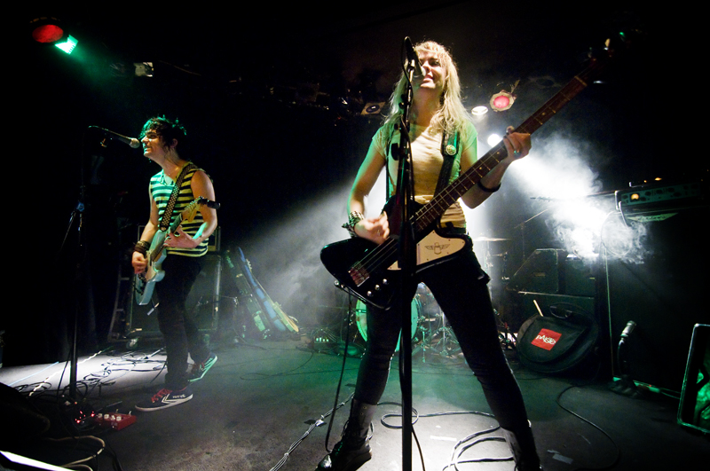 Kelly Ogden and Luis Cabezas of The Dollyrots