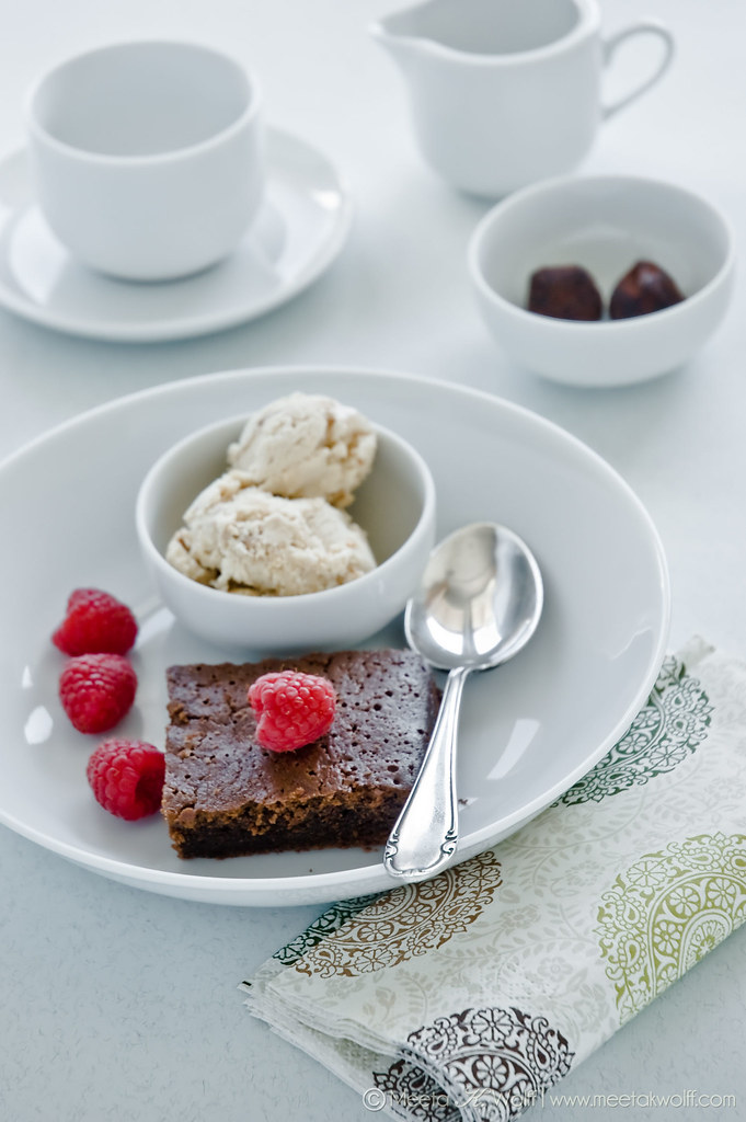 Chocolate Espresso Sponge Pudding (0027) by Meeta K. Wolff