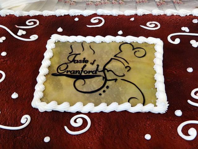 Taste of Cranford cake