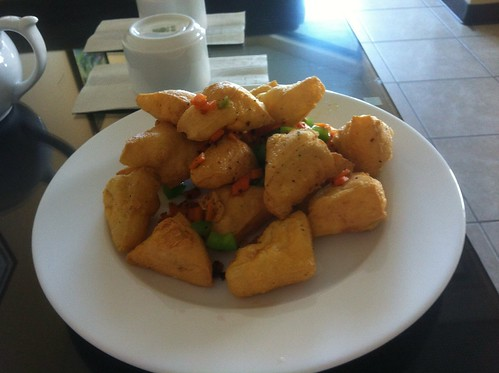 Hot and Salty Tofu by raise my voice