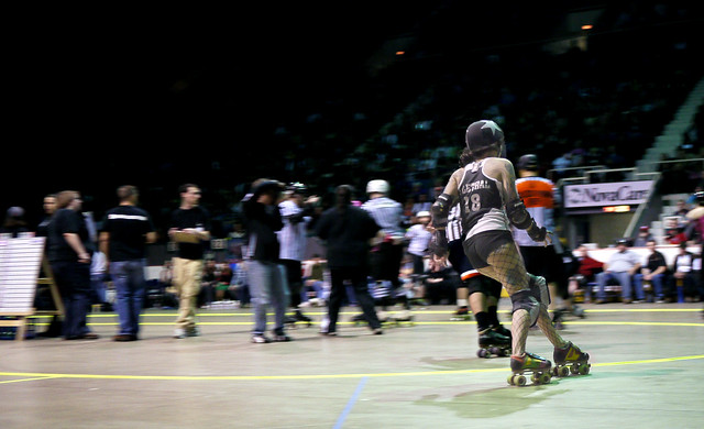 Cincinnati Rollergirls vs. the Arch Rival Roller Girls