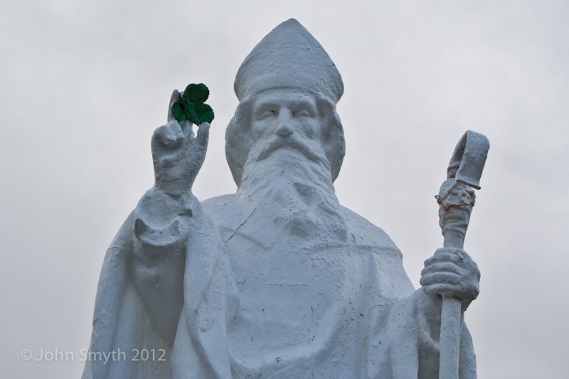 St Patrick at Croagh Patrick