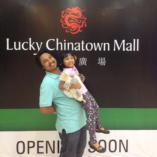 Finally, naka usyoso din sa Lucky Chinatown Mall