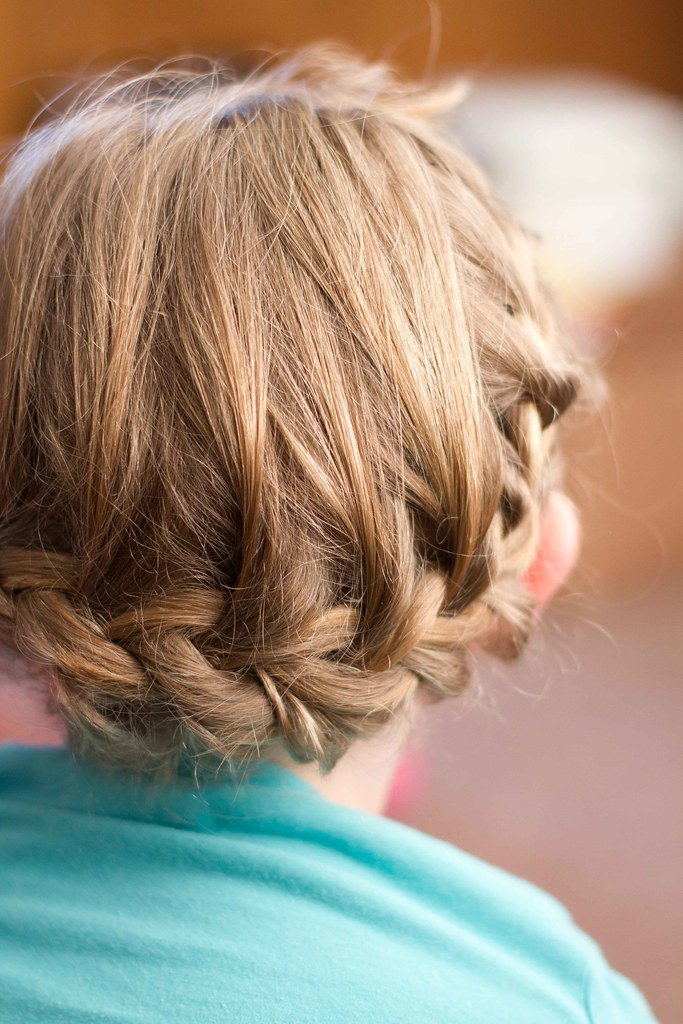 Addie's hair.