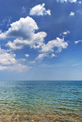 Over Lake Michigan