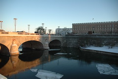 Norrbro Bridge and the Royal Palace of Stockholm