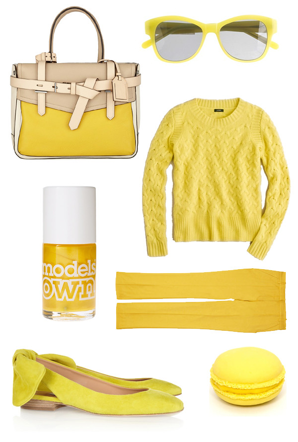 fahionpea_yellow_carven_shoes_bag
