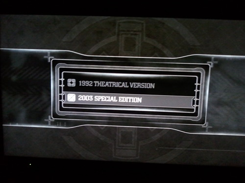 Alien 3 Blu-ray menu