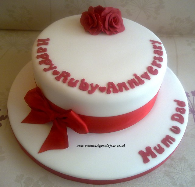 Ruby Anniversary Cake Images : Ruby Anniversary Cake Flickr - Photo Sharing!