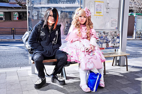 Mad Punks x Angelic Pretty in Harajuku