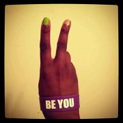 "London Pē says 2Words... ""BE YOU"" (The NEW 1inch Wristbands)"
