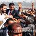 Rahul Gandhi's road show in Sultanpur, U.P (3)