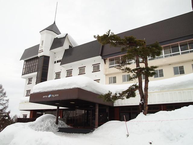 Hotel TAGAWA正門
