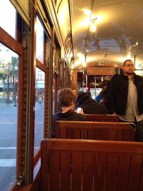 St Charles Ave Streetcar