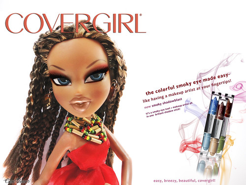 """Bratz Next Doll Model"" C.8 All-Stars- FINALE CHALLENGES: THEME 3 Covergirl  - Danielle"
