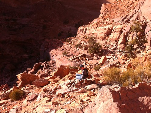 False Kiva trail